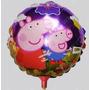 Balão Metalizado Decorativo Peppa E Família Pig-lembrancinha