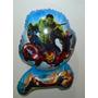 Balão Metalizado Vingadores, Thor, Avengers Kit 10 Balões