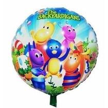 Balão Metalizado Backyardigans - Kit Com 10 Balões