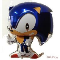 Kit 10un. Balão Metalizado Sonic 70x53cm
