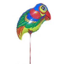 Balão Metalizado Floresta Animais Papagaio 43cm