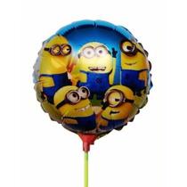 Balão Metalizado Minnions Centro De Mesa - 20 Balões
