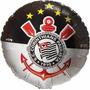 Balão Metalizado Corinthians Timão Festa Bexiga 10 Un.