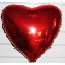 Balão Metalizado Coração, Estrela - Kit Com 10 Balões