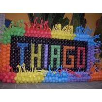 Tela Plástica,mágica, Pds P/ Balões: Kit Com 4 Metros2