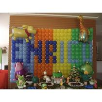 Kit Decoração 3: Tela Mágica+medidor+balões