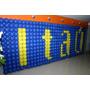 Tela Plástica,mágica, Pds P/ Balões: Kit Com 6 Metros