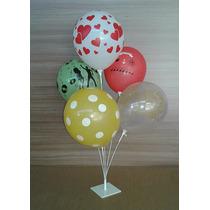 2 Suporte Para Balão Vareta Para Bexiga Que Imitam Gás Hélio