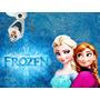 Frozen, Disney, Princesas E Etc Painel De Festa 2,4x1,3
