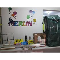 Tela Plastica Mágica Pds Kit Completo P/decoração Com Balões