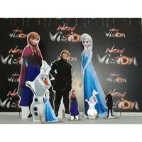 Kit Cenário Display De Chão Frozen Com 8 Peças!!!