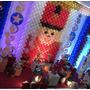 Tela Mágica,pds,painel De Balões,decoração Infantil,9 Kits