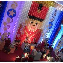 Tela Mágica,pds,painel De Balões,decoração Infantil,3 Kits