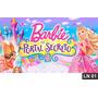 Barbie Portal Secreto Painel 2,00x1,00 Lona Festa Aniversari
