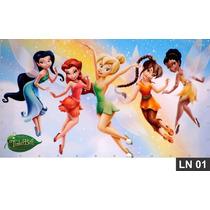 Tinker Bell Painel 3,00x1,70m Lona Festa Banner Aniversário