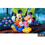 Mickey Minnie Turma Painel 3,00x1,70m Lona Festa Banner