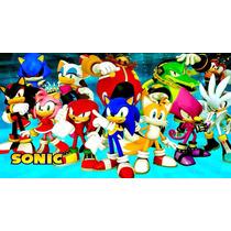Big Painel Sonic - R$47,90 - Melhor Preço M.l.