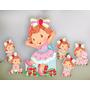 Moranguinho Baby Kit Displays Mdf Festa Infantil Decoração