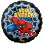 Balão Homem Aranha - Feliz Aniversário - 18 Polegadas