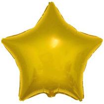 Balão Metalizado Estrelas Kit C/10 Balões