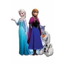 Kit Display Frozen Totem Com Painel Cenário 4 Unidades