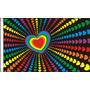 Gay Pride Falg - Bandeira Do Arco-íris Amor Março 5ftx 3ft