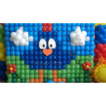 Tela Para Balões,tela Mágica,pds,painel De Balões,4 Kits