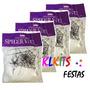 Kit C/4 Teia De Aranha Artificial Decoração Festas Halloween
