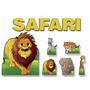 Safari Cutie Cj Displays Toten Festa Infantil Decoração