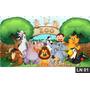 Zoo Zoológico Animais Painel 3,00x1,70m Festa Aniversários