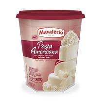 Pasta Americana Pronta Mavalério 800g - Decore Bolos E Doces