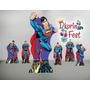 Super Man 01 Kit Display Mdf 6 Mm , Decoração Festa Infantil
