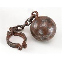Traje Prisioneiro - Bola E Corrente Thief Convict Robber