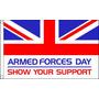 Bandeira - Dia Das Forças Armadas 3ftx 2ft De Ilhós Metál