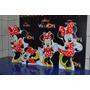 Kit Cenário Displays De Chão Minnie Vermelha Com 8 Peças!!!