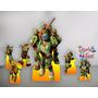 Tartarugas Ninja Kit Displays Mdf Festa Infantil Decoração