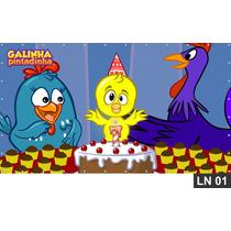 Galinha Pintadinha Painel 3,00x1,70m Aniversario Decoração