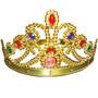 Tiara Coroa Fantasia Princesa Rainha Principe Rei