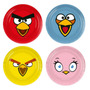 Prato Aniversário Angry Birds - C/08 Unidades - Regina