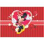 Painel Em Lona Minnie Vermelha 2x1,40 Ref. Minnie09