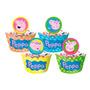 Forminha Wrapper Para Cupcake Peppa Pig - C/12 Un - Regina