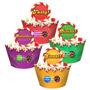 Forminha Wrapper Para Cupcake Candy Crush - C/12 Un - Regina