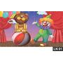 Circo Palhaço Painel 3m² Lona Festa Aniversário Banner