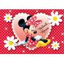 Painel De Decoração 2 X 1,40 Minnie Vermelha E Rosa