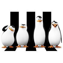 Big Painel Pinguins Madagascar - Melhor Do Ml