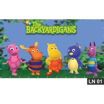 Backyardigans Painel 2,00x1,00m Lona Festa Aniversários Bann