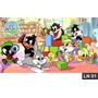 Looney Tunes Baby Painel 3m² Lona Festa Aniversário Decoraçã