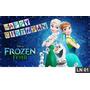 Frozen Fever Painel 2,00x1,00 Lona Aniversário Decoração