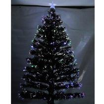 Árvore Natal C/ Led E Fibra Ótica 120 Galhos 1.20cm