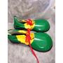Sapato De Palhaço Verde Amarelo